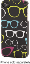 Griffin Technology - Sunglasses Hard Shell Case for Apple® iPhone® 4 and 4S - Black