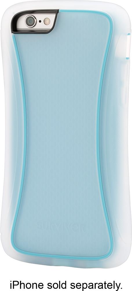Griffin Technology - Survivor Slim Case for Apple® iPhone® 6 - Blue/Clear
