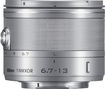 Nikon - 1 NIKKOR 6.7-13mm f/3.5-5.6 VR Ultra-Wide Zoom Lens for Most Nikon 1 Cameras - Silver