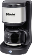 Better Chef - 4-Cup Coffeemaker - Black