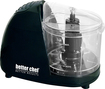 Better Chef - 1-1/2-Cup Compact Chopper - Black
