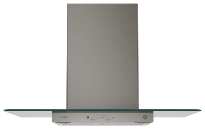 GE - Profile Series 30 Convertible Range Hood - Slate