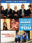This Is Where I Leave You (Blu-ray Disc) (2 Disc) (Ultraviolet Digital Copy) (Enhanced Widescreen for 16x9 TV) (Eng/Fre/Spa)