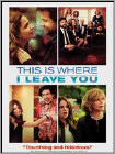 This Is Where I Leave You (DVD) (Ultraviolet Digital Copy) (Eng/Fre/Spa)