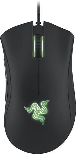 Razer - DeathAdder 2013 Gaming Mouse - Black