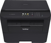 Brother - Network-Ready Wireless Black-and-White All-in-One Laser Printer