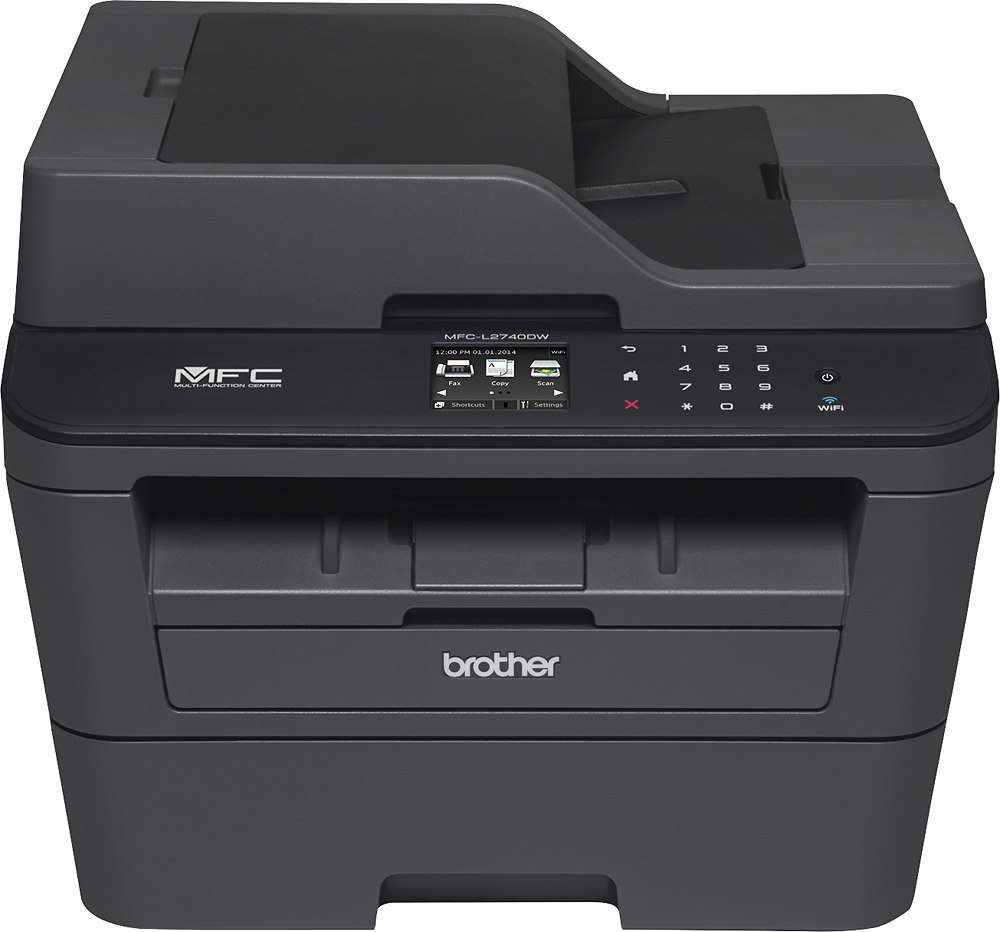 Color printing cost per page in india - Brother Mfc L2740dw Wireless Black And White All In One Laser Printer Black