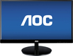 "AOC - 21.5"" IPS LED HD Monitor - Black"