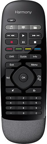 Logitech - Harmony Smart Control 8-Device Universal Remote - Black