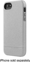Incase - Crystal Meta Slider Case for Apple® iPhone® 5 and 5s - Silver