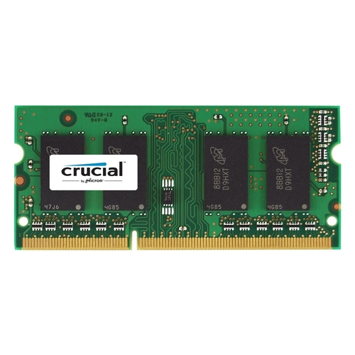 Crucial - 8GB 1.6GHz PC3-12800 DDR3L SO-Dimm Unbuffered Non-ECC Laptop Memory