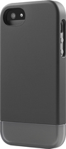Incase - Shock Slider Case for Apple® iPhone® 5 and 5s - Black/Gray