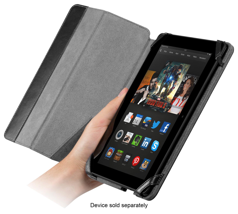 CHIL - Notchbook Folio Case for Kindle Fire HDX 8.9 - Black