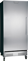 Frigidaire - 19.5 Cu. Ft. Frost-Free Upright Freezer - Stainless-Steel