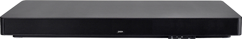 Zvox - SoundBase 670 Soundbar with 3 Built-In Subwoofers - Black