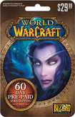Blizzard Entertainment - World of Warcraft 60-Day Subscription Card ($29.99) - Multicolor