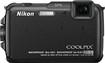 Nikon - Coolpix AW110 16.0-Megapixel Digital Camera - Black