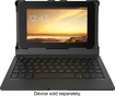 "ZAGG - ZAGGkeys Folio Keyboard Case for Most 8"" Android Tablets - Black"