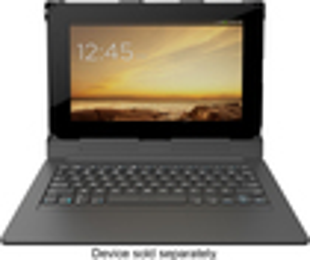 "ZAGG - ZAGGkeys Folio Keyboard Case for Most 10"" Android Tablets - Black"