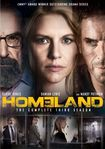 Homeland: The Complete Third Season [3 Discs] (dvd) 8192081