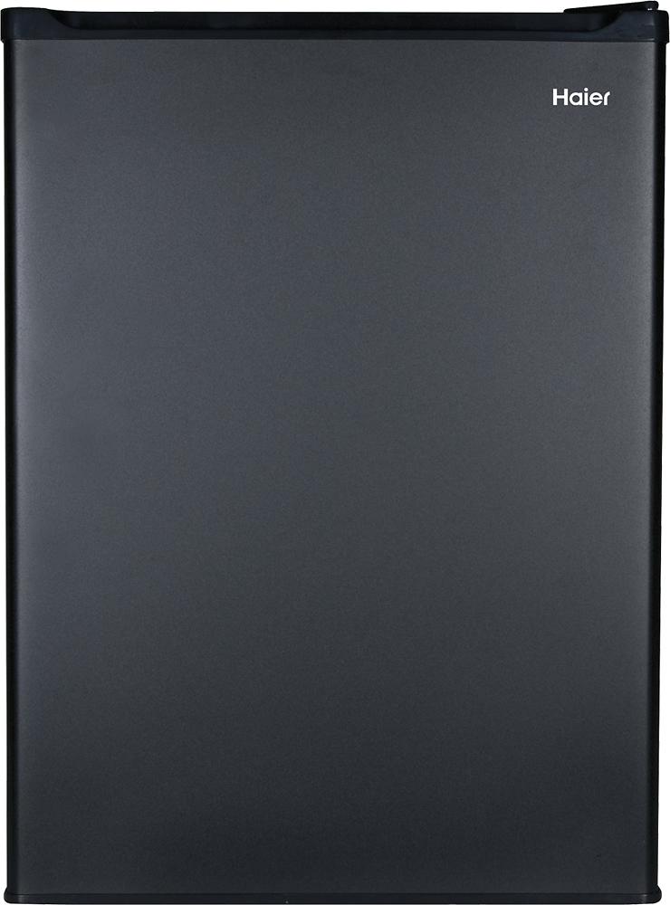 Haier - 2.7 Cu. Ft. Compact Refrigerator - Black