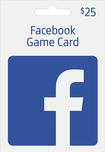 FaceBook - $25 Facebook Game eCard - Blue