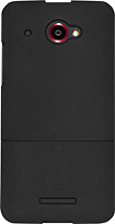 Platinum Series - Case with Holster for HTC DROID DNA 4G LTE Cell Phones (Verizon) - Black