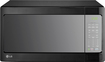 LG - 1.4 Cu. Ft. Mid-Size Microwave - Smooth Black