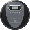 Insignia™ - Portable CD Player - Black/Charcoal
