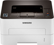 Samsung - Xpress Network-Ready Wireless Black-and-White Laser Printer - White/Black