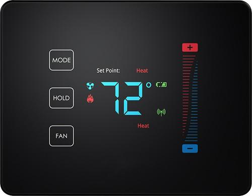 PEQ Touch Thermostat Black 3157100-BP