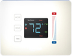 PEQ - Touch Thermostat - White