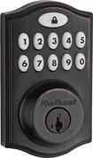 Kwikset - 914 SmartCode Touchpad Electronic Deadbolt Lock - Venetian Bronze