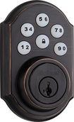 Kwikset - 910 SmartCode Touchpad Electronic Deadbolt Lock - Venetian Bronze