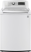 LG - TurboWash 5.2 Cu. Ft. 12-Cycle Mega-Capacity High-Efficiency Top-Loading Washer - White