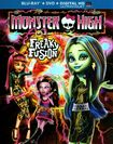 Monster High: Freaky Fusion [2 Discs] [includes Digital Copy] [ultraviolet] [blu-ray/dvd] 8230843