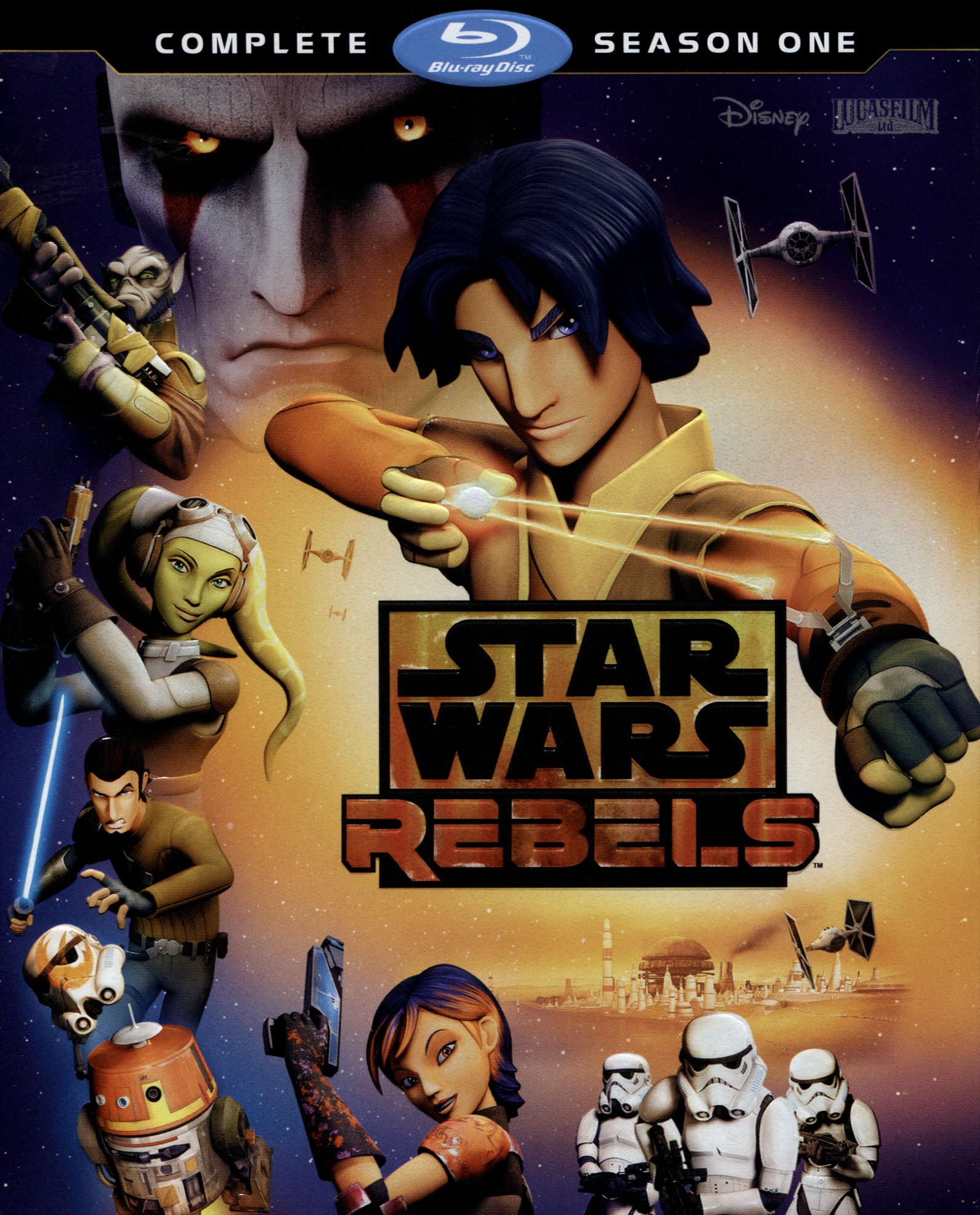 Star Wars Rebels: Complete Season 1 [blu-ray] [2 Discs] 8239034
