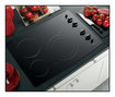 """GE Appliance - Profile CleanDesign 30"""" Built-In Electric Cooktop - Black"""