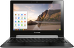 "Lenovo - 2-in-1 11.6"" Touch-Screen Chromebook - Intel Celeron - 2GB Memory - 16GB Solid State Drive - Silver"