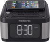 Memorex - Alarm Clock Radio - Black