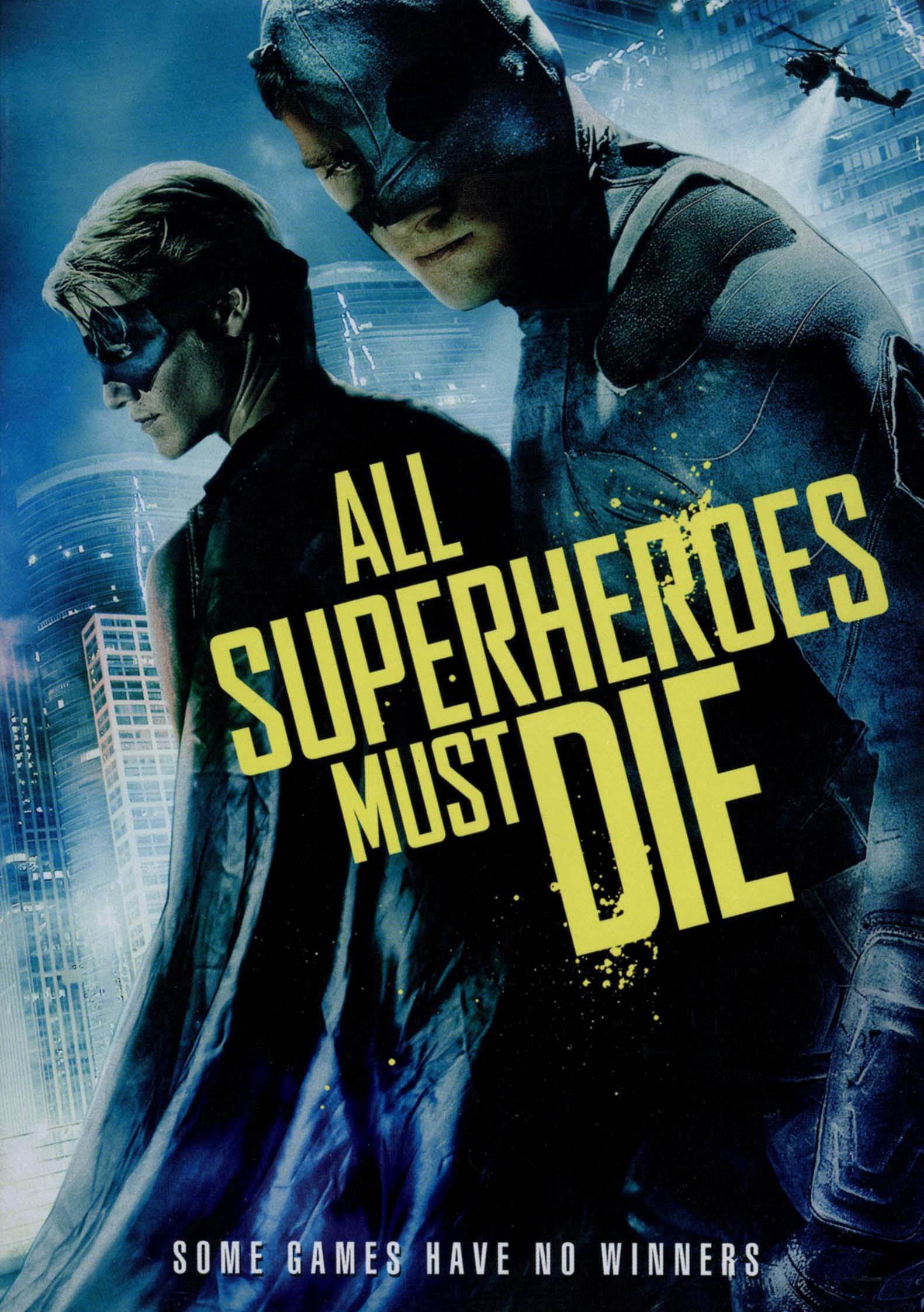 All Superheroes Must Die (dvd) 8247005