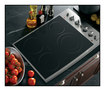 "GE Appliance - Profile CleanDesign 30"" Built-In Electric Cooktop - Stainless"