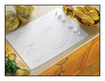 """GE Appliance - Profile CleanDesign 30"""" Built-In Electric Cooktop - White"""