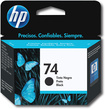HP - 74 Inkjet Cartridge - Black