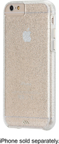 Case-Mate - The Glam Collection Sheer Glam Case for Apple® iPhone® 6 - Clear/Champagne