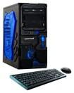 CybertronPC - Borg-Q Desktop - AMD FX-Series - 8GB Memory - 1TB Hard Drive - Black/Blue