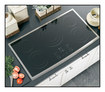 """GE Appliance - Profile CleanDesign 36"""" Built-In Electric Cooktop - Stainless"""