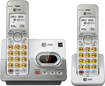 AT&T - DECT 6.0 Expandable Cordless Phone System with Digital Answering System - Silver