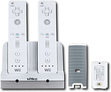 Nyko - Charging Dock for Nintendo Wii (743840870166)