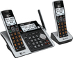 AT&T - CL83213 DECT 6.0 Expandable Cordless Phone System with Digital Answering System - Silver